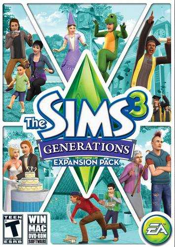 The Sims 3: Generations / The Sims 3: Все возрасты (2011/Multi 21/RUS)