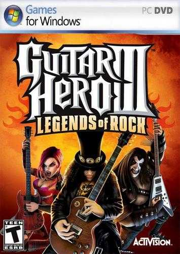 Gutar Hero 3: Legends Of Rock (2008/Eng/Repack by PUNISHER)